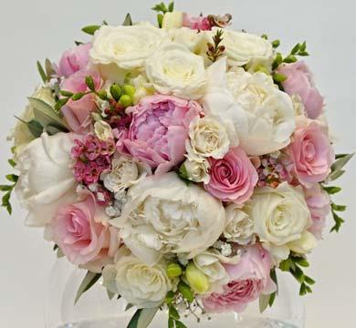 Svatba bílorůžová
